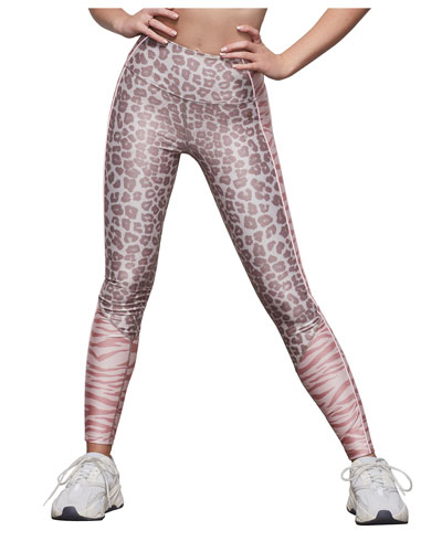 High-Rise Animal-Print Leggings - Inclusive Sizing