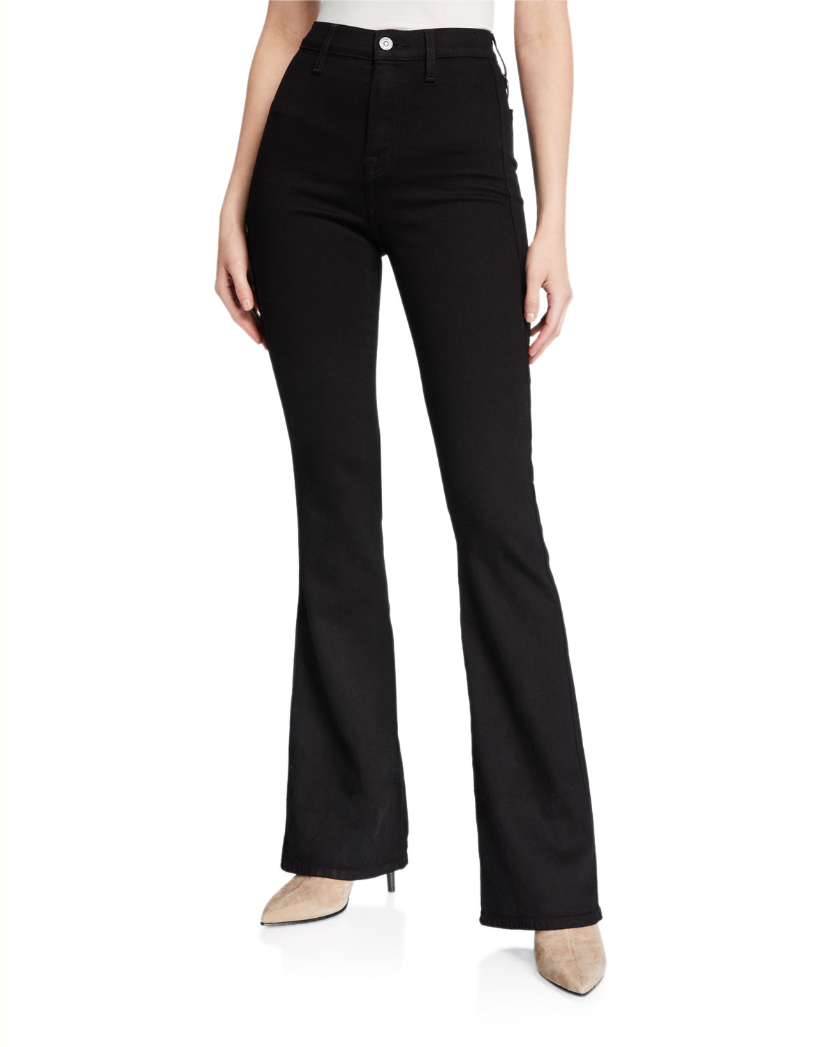 7 for all mankind Modern 'A' Pocket Wide-Leg Jeans