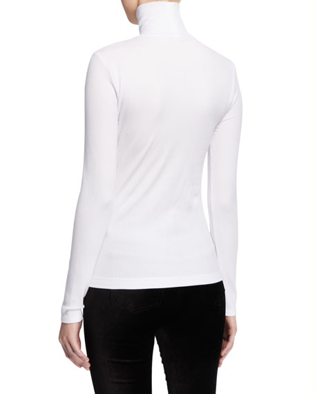 7 For All Mankind Turtleneck Long-Sleeve Tee