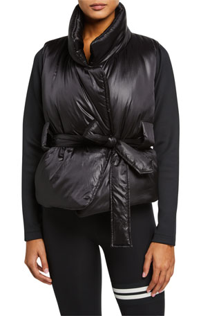 Lukka Lux Alexis Belted Puffer Jacket