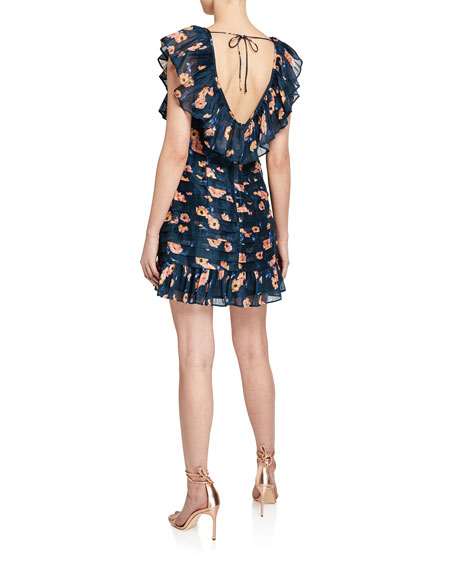 La Maison Talulah Chain Of Fire Mini Dress
