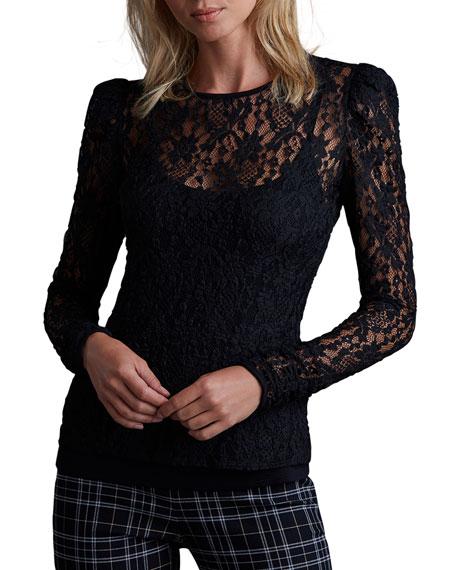 Bailey 44 Jenna Lace Long-Sleeve Top w/ Cami