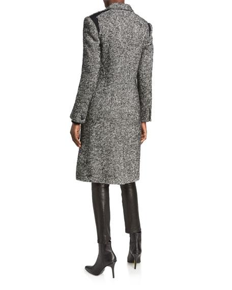 Rag & Bone Dani Single-Button Wool Coat