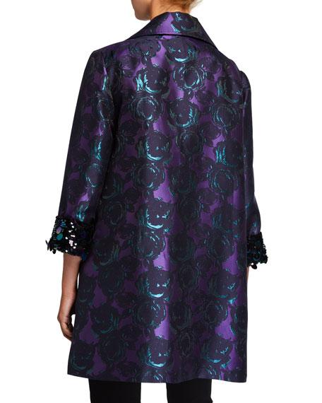 Berek Plus Size Bella Brocade Topper Jacket