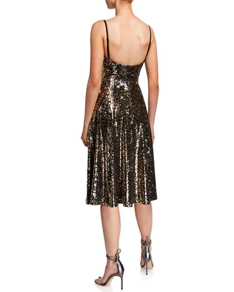 Dress The Population Mimi Sequin Slip Dress