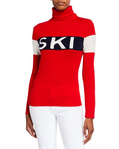 Ski Sweater II  Red