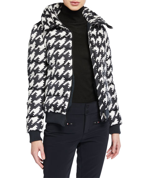 Perfect Moment Super Star Houndstooth Jacket