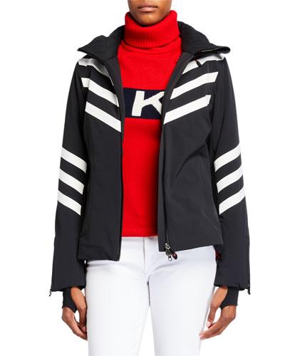 Chevron Stripes Track Jacket