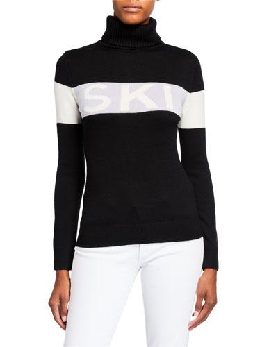 Ski Sweater II  Black