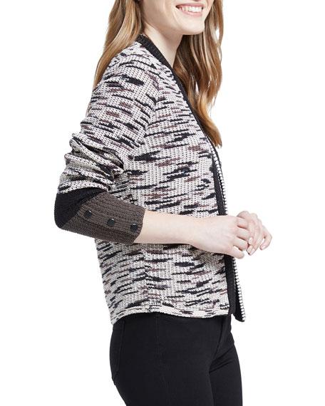 NIC+ZOE Plus Size Perks Colorblock Cardigan