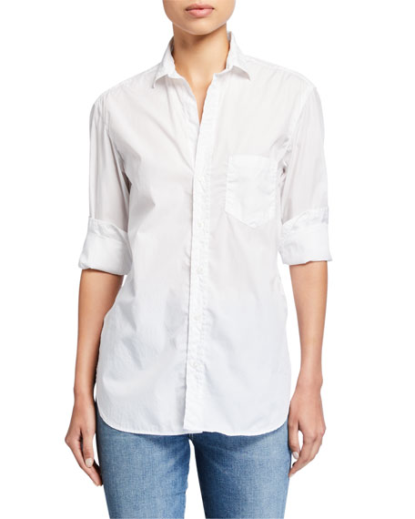 Frank & Eileen Joedy Superfine Cotton Poplin Button-Down Shirt