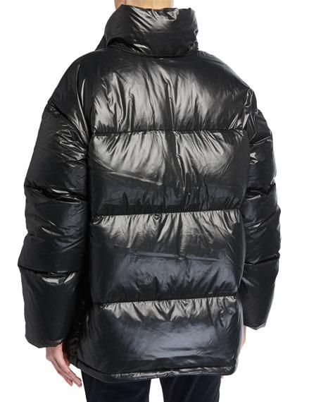 66 North Dyngja Lightweight Down Jacket w/ Detachable Hood