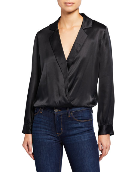 Cami NYC The Kendall Charmeuse Long-Sleeve Top