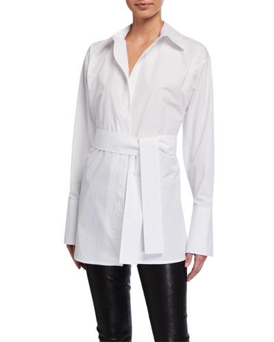 Casablanca Belted Shirt