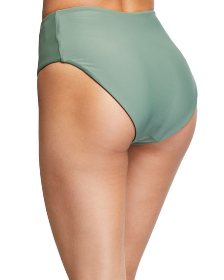 Veronica Beard Lanikai High-Waist Bikini Bottom