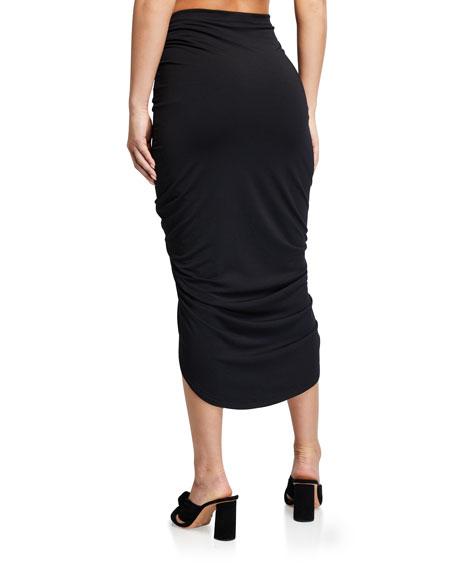 Veronica Beard Ari High-Low Coverup Skirt