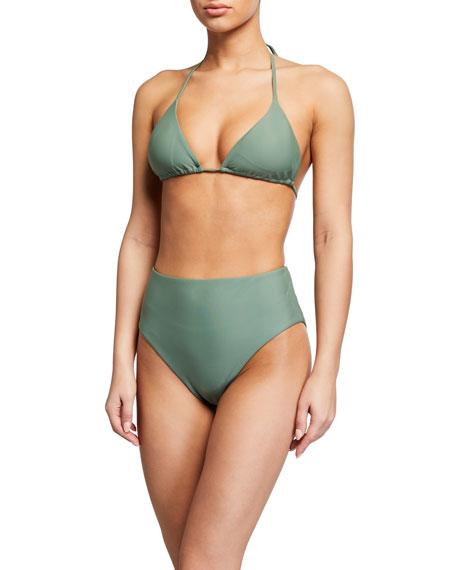 Veronica Beard Cala Triangle Bikini Top
