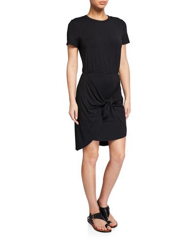 Bernice Tie-Front Coverup Dress