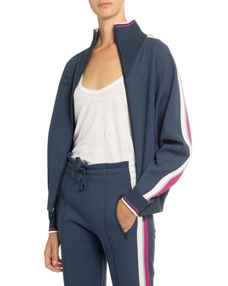 Etoile Isabel Marant Darcey Cotton Track Jacket