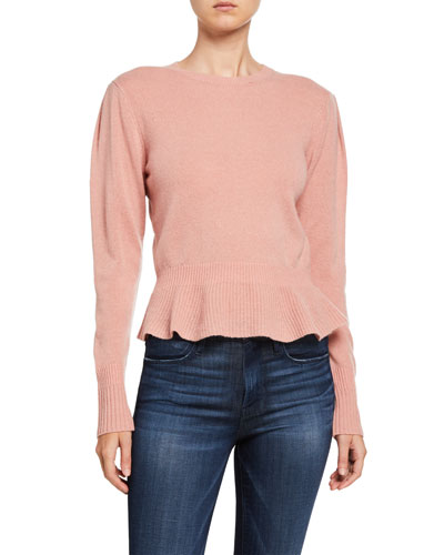 Sustainable Cashmere Cinched Sweater