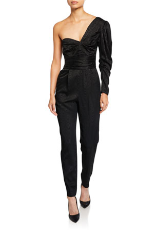 A.L.C. Walden Asymmetrical One-Shoulder Jumpsuit
