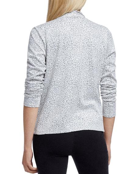 NIC+ZOE Plus Size Leo Leopard Print Jacket