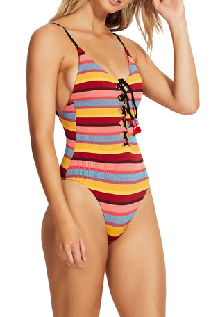 Rapz Womens 3 Tiered Dress Beach Swimwear Bikini Cover-up