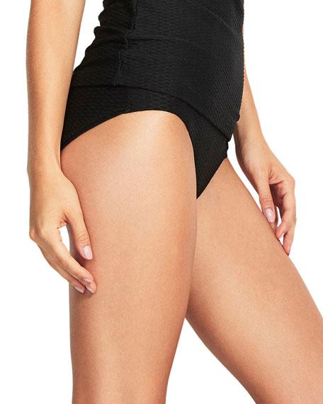 Seafolly Textured Hipster Bikini Bottom