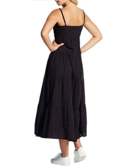 Seafolly Sleeveless Tiered Maxi Dress