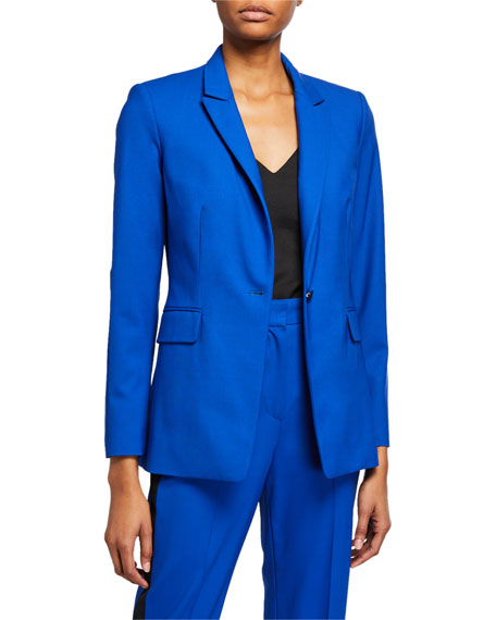 Rag & Bone Hazel Single-Button Blazer