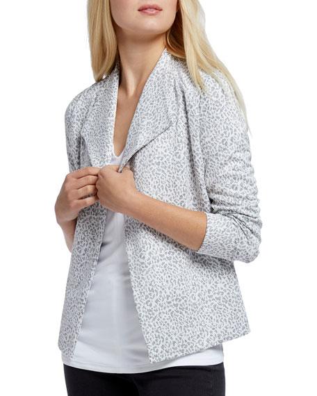 NIC+ZOE Leo Leopard Print Jacket