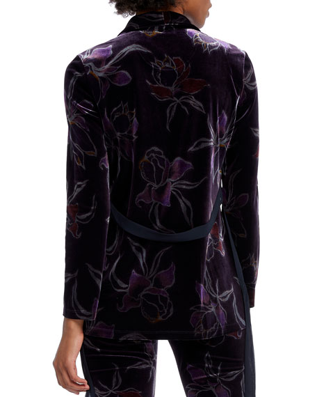 NIC+ZOE Plus Size Soft Petal Velvet Jacket
