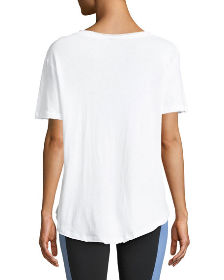 Alo Yoga Playa Short-Sleeve Tee