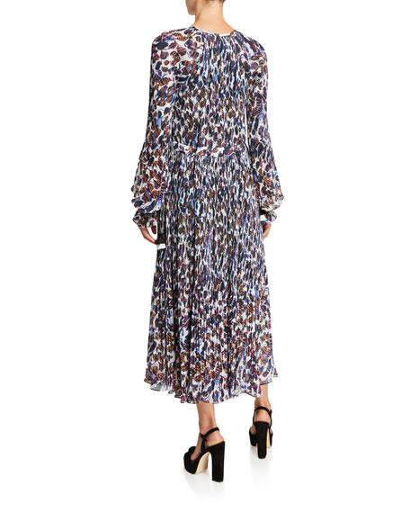 Derek Lam 10 Crosby Nemea Pleated Maxi Dress