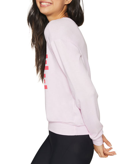 Spiritual Gangster Savasana More Love Crewneck Sweatshirt