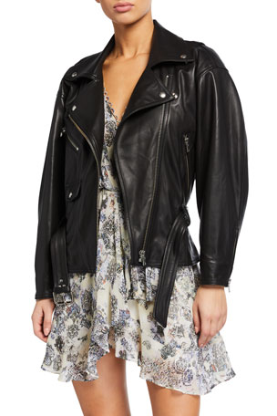Iro Ikem Leather Moto Jacket