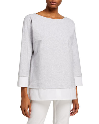 Duke Ultra Comfort Layered French Terry Top