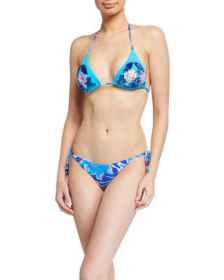 Emilio Pucci Two-Piece Triangle Bikini