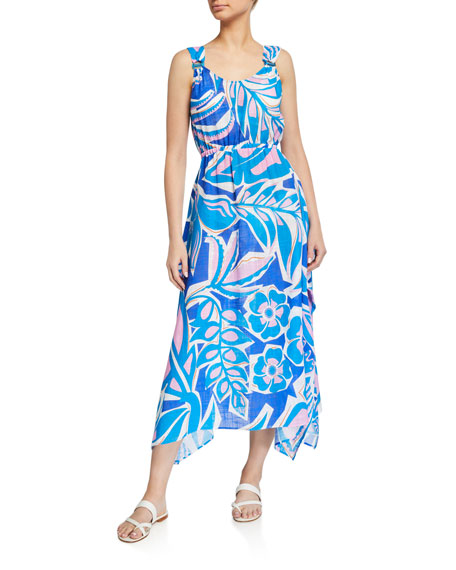 Image 1 of 2: Sleeveless Long Dress