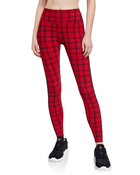 Alo Yoga Occasion Plaid Leggings