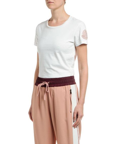 Moncler Logo-Sleeve Cotton T-Shirt