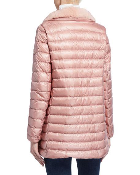Moncler Soufre Long Puffer Coat