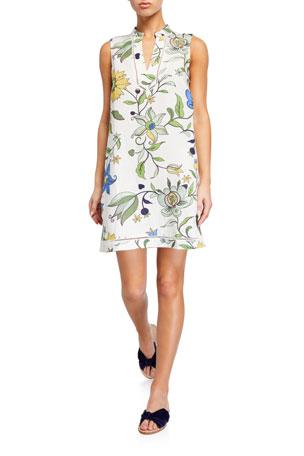 Tory Burch Printed Sleeveless Beach Dress