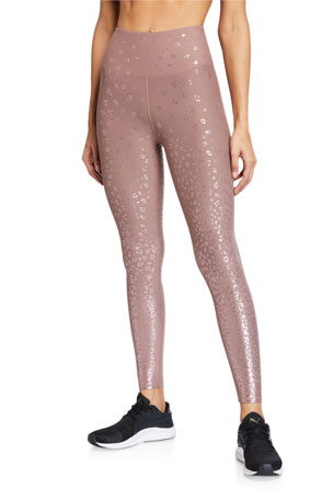 Good American Ombre Foiled Active Leggings - Inclusive Sizing