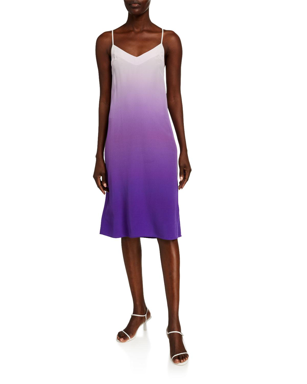 Equipment Jules Ombre Slip Dress