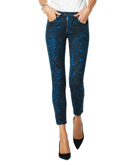 Image 1 of 4: Ramy Brook Kate Animal-Print Skinny Jeans