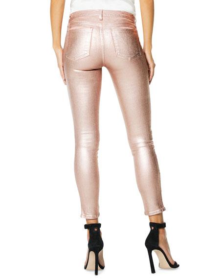 Ramy Brook Kate Metallic Skinny Jeans