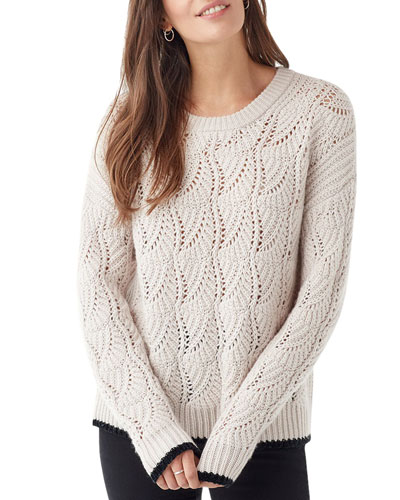 Parker Pointelle Sweater