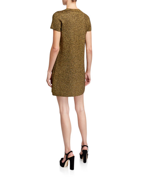 Milly Metallic Mod Dress