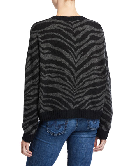 Rails Chance Tiger-Print Sweater
